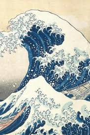 Under the Wave off Kanagawa: A Poetose Notebook (100 pages/50 ...